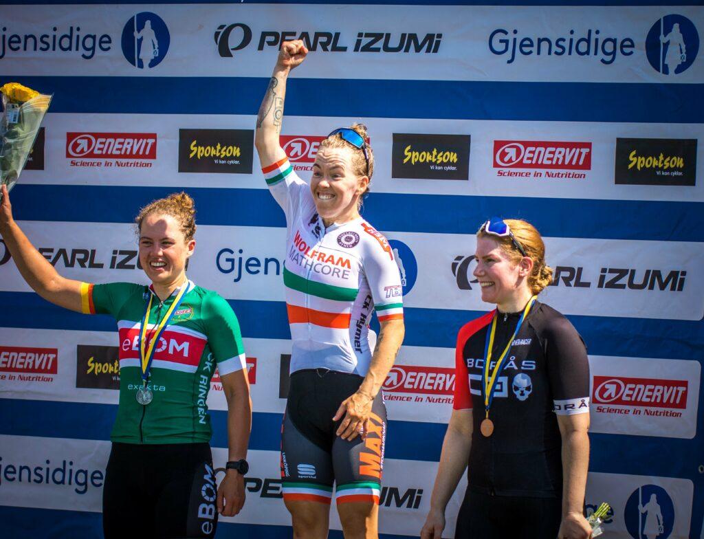 Johanna Palmqvist SM-Guld kortbana